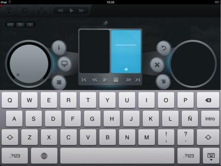 Principales controles de XBMC y el teclado gracias a Constellation