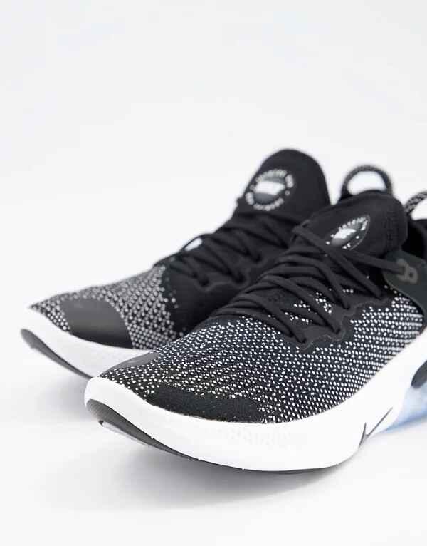 Zapatillas de deporte negras Joyride Flyknit de Nike
