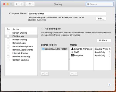 Como cambiar el nombre a un Mac