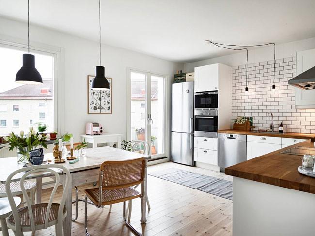 Piso n rdico funcionalidad con muebles de ikea - Casas decoradas con muebles de ikea ...
