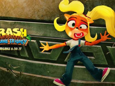 ¡Coco se une a la fiesta! Crash Bandicoot N. Sane Trilogy te permitirá jugar con la hermana de Crash en los tres juegos