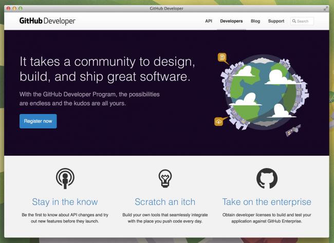 Define el diseo de tus apis con blueprint raml o swagger github lanza su developer program para construir todo tipo de integraciones con su api malvernweather Choice Image