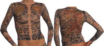 Camisetas tatuadas