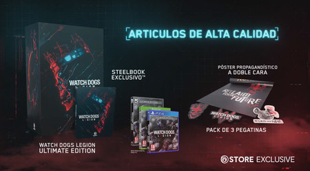 Watch Dogs Legion Edicion Coleccionista