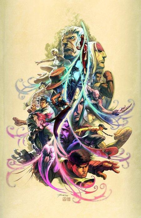 Street Fighter III, tributo de Alvin Lee