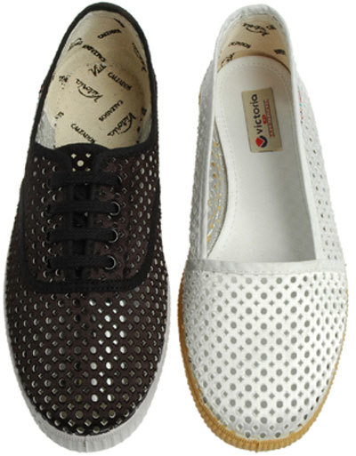 Zapatillas Victoria caladas