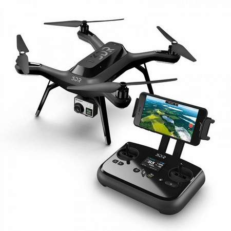 Drone con mando remoto