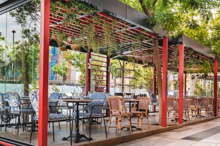 Terraza del restaurante Martinete