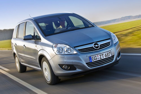 Opel Zafira 1.7 CDTI ecoFLEX, 5,3 l/100 km
