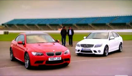 BMW M3 vs Mercedes-Benz C 63 AMG, diversión en Fifth Gear