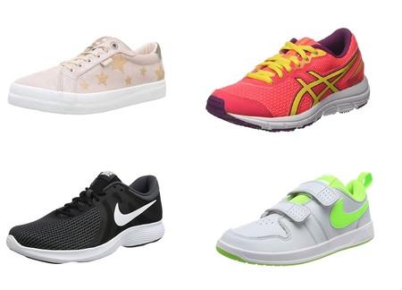 Chollos en tallas sueltas de zapatillas Mustang, Nike o Asics en Amazon