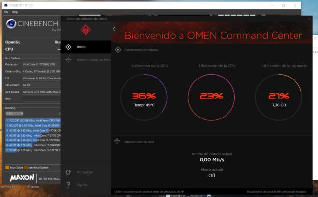 Omen Command Center