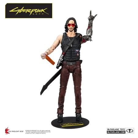 Cyberpunk 2077 Figura Keanu Reeves 01