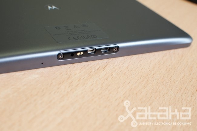 Motorola Xoom conectores