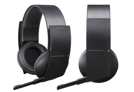 PS3 Wireless Stereo Headset, auriculares con sonido 7.1