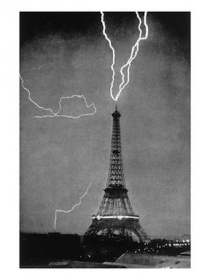 Torre Eiffel Rayo
