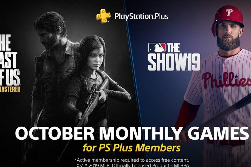 The Last of Us Remastered y MLB The Show 19 serán los juegos de PlayStation Plus de octubre