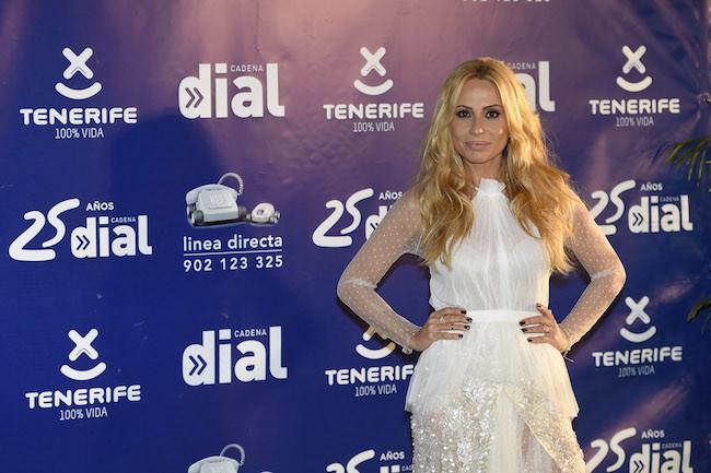 Marta Sanchez en los Premios Cadena Dial 2015