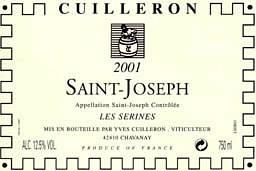 Yves Cuilleron Saint-Joseph Les Serines 2001