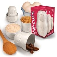 Matrioskas que se usan como medidores de cocina