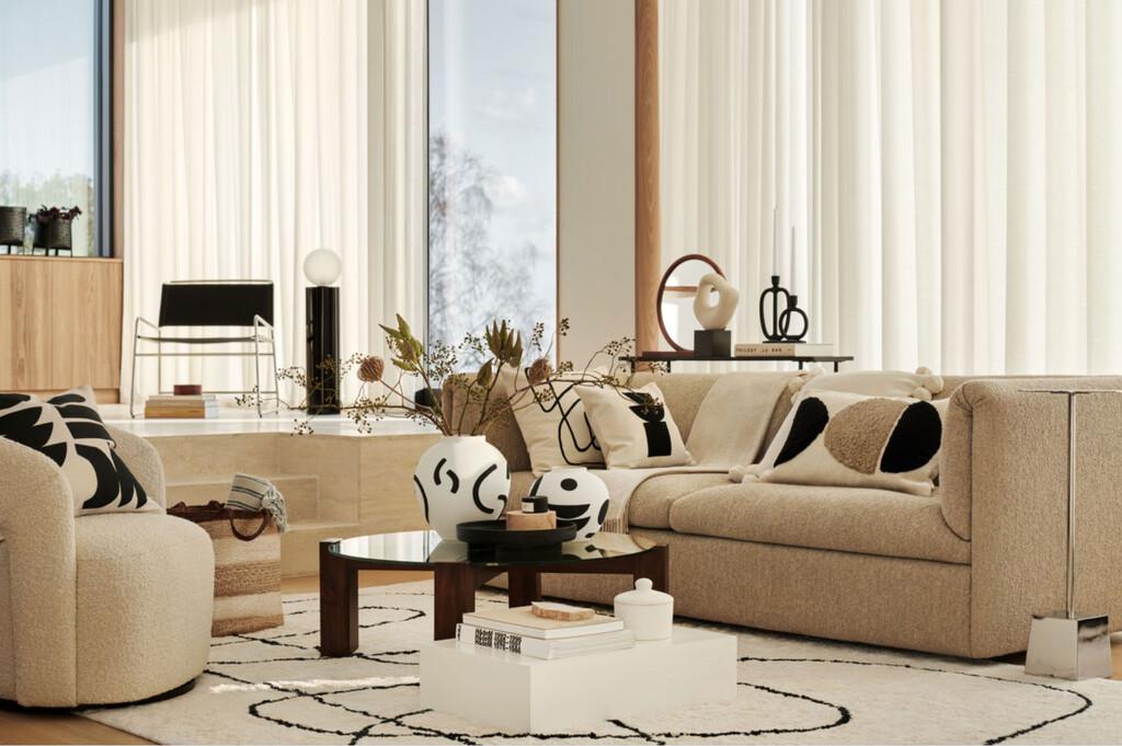 Inspiración decorativa de la mano de H&M Home para conseguir un estilo decorativo