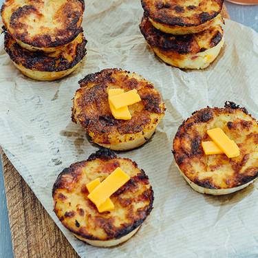 Muffins de cheddar y tocino: receta
