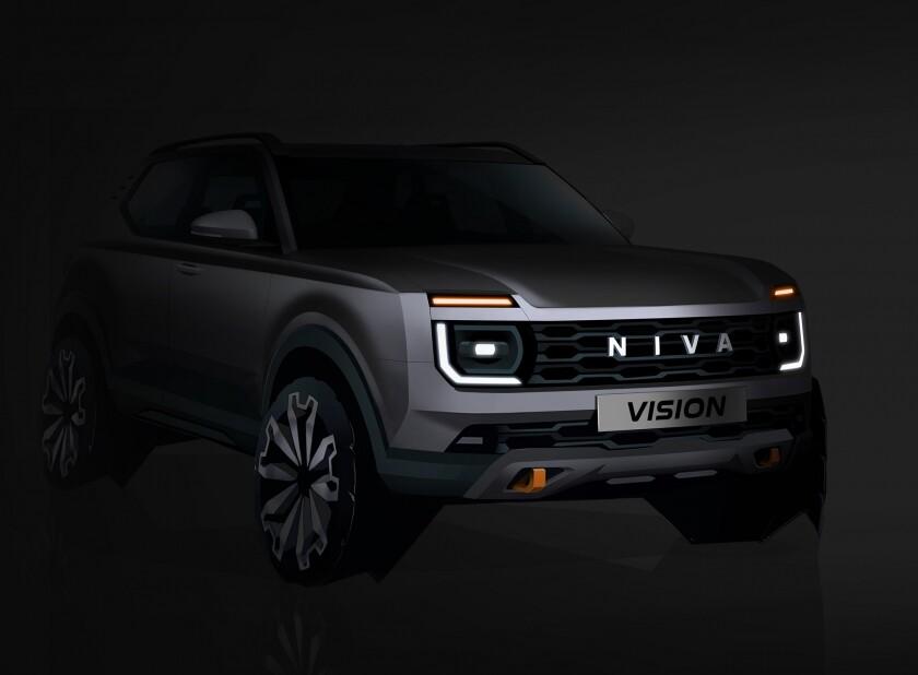 La próxima generación del mítico todoterreno Lada Niva llegará en 2024 más refinado, pero sin perder su esencia 4x4