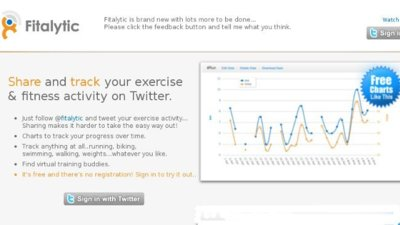 Fitalytic: para monitorizar tu entrenamiento con Twitter