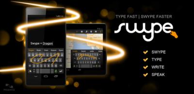 Finaliza la beta de Swype y ya lo podemos encontrar en Google Play de oferta