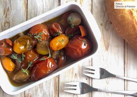 Cómo preparar tomates asados en conserva para disfrutarlos en otoño e invierno