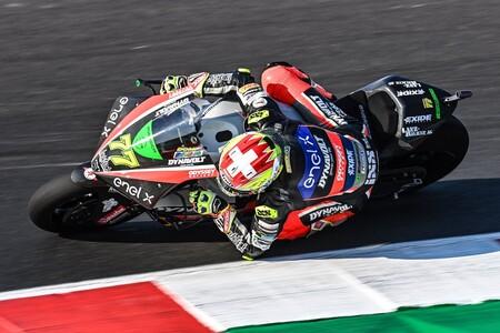 Dominique Aegerter gana la primera carrera de MotoE en Misano tras un duelo con Matteo Ferrari y Jordi Torres
