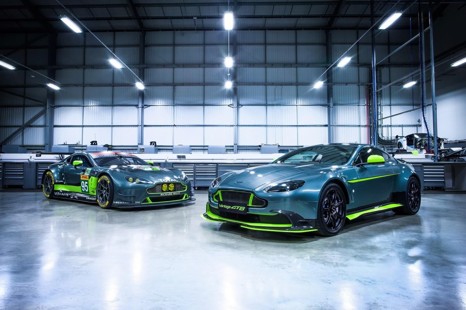 Foto de Aston Martin Vantage GT8 (1/14)