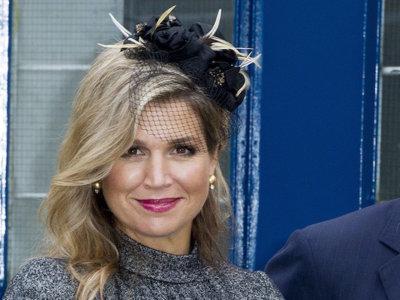 Copia el look de Máxima de Holanda para una boda de otoño