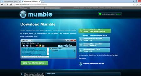 Mumble en Azure