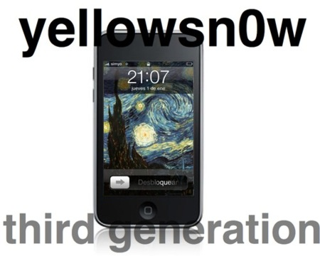 Libera el iPhone 3G con yellowsn0w