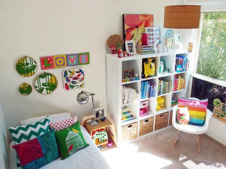 Espacios que inspiran: un dormitorio infantil rediseñado para una niña mayor.