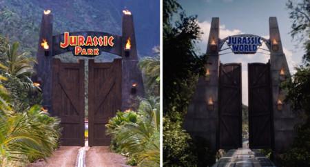 Jurassic World y Jurassic Park: la puerta