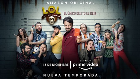'LOL' de Amazon Prime Video estrenará su segunda temporada en México el 13 de diciembre: estos son sus participantes