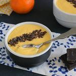 Receta de crema de mandarina, un refrescante postre sin gluten de cremosidad irresistible