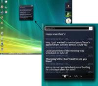 Nokia Text Messenger, por fin algo útil para la barra de Windows Vista