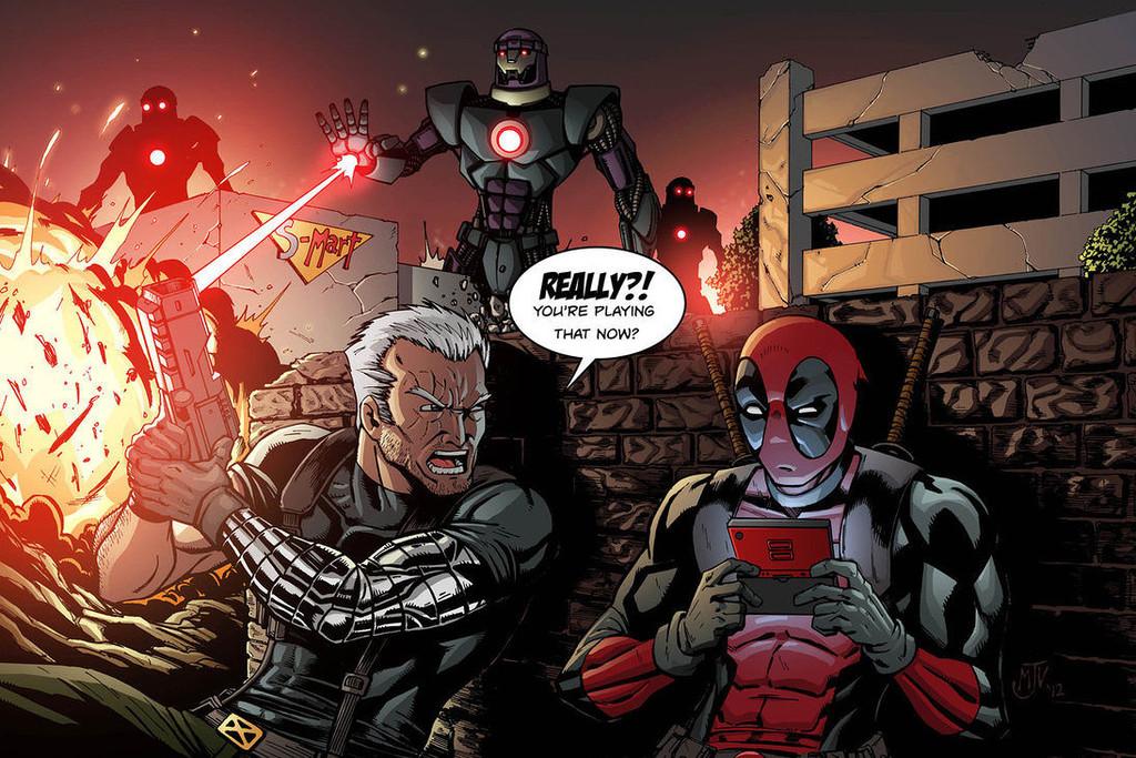 Cable y Deadpool