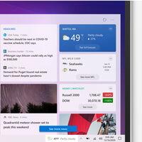 Contenido dinámico en la barra de tareas de Windows 10: así son las nuevas funciones que está probando Microsoft