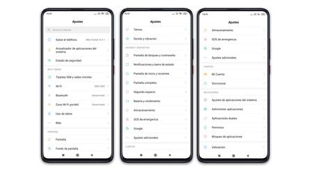 Xiaomi Mi 9t Pro Ajustes