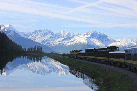 'Aurora Train', la mejor manera de disfrutar de las espectaculares auroras boreales en Alaska