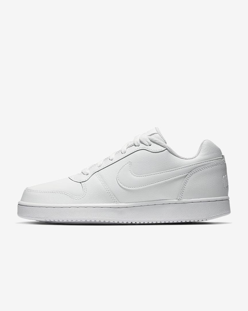 Zapatillas blancas sencillas