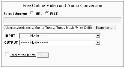 Media Convert vx2, sencillo conversor online