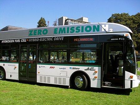 Londres pone en marcha sus primeros autobuses a hidrógeno