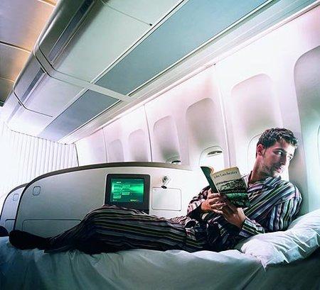 La cabina premium de Virgin Atlantic