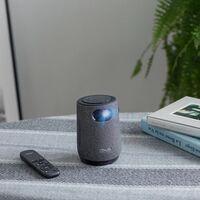 Parece una taza de café pero en realidad es el nuevo proyector portátil de Asus con altavoz y plataforma smart TV incorporados