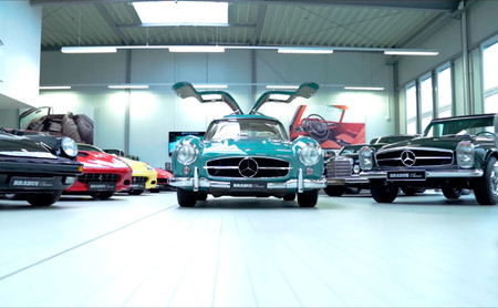 Brabus Mercedes 300 SL Gullwing